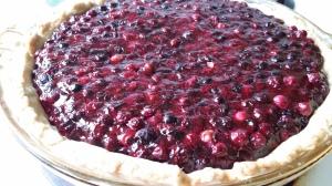 Service Berry Pie