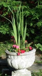 Flowers-Garden Urn